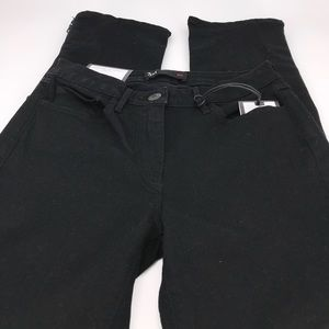3x1-Midway Gusset Zipper in Black size 24